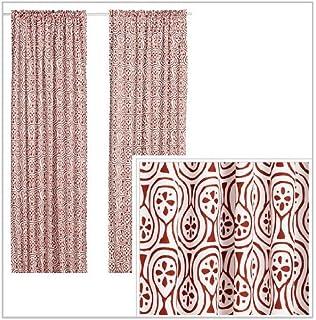 Curtains Ideas curtain panels ikea : Amazon.com: Ikea Thin Curtains, 1 Pair, White: Home & Kitchen
