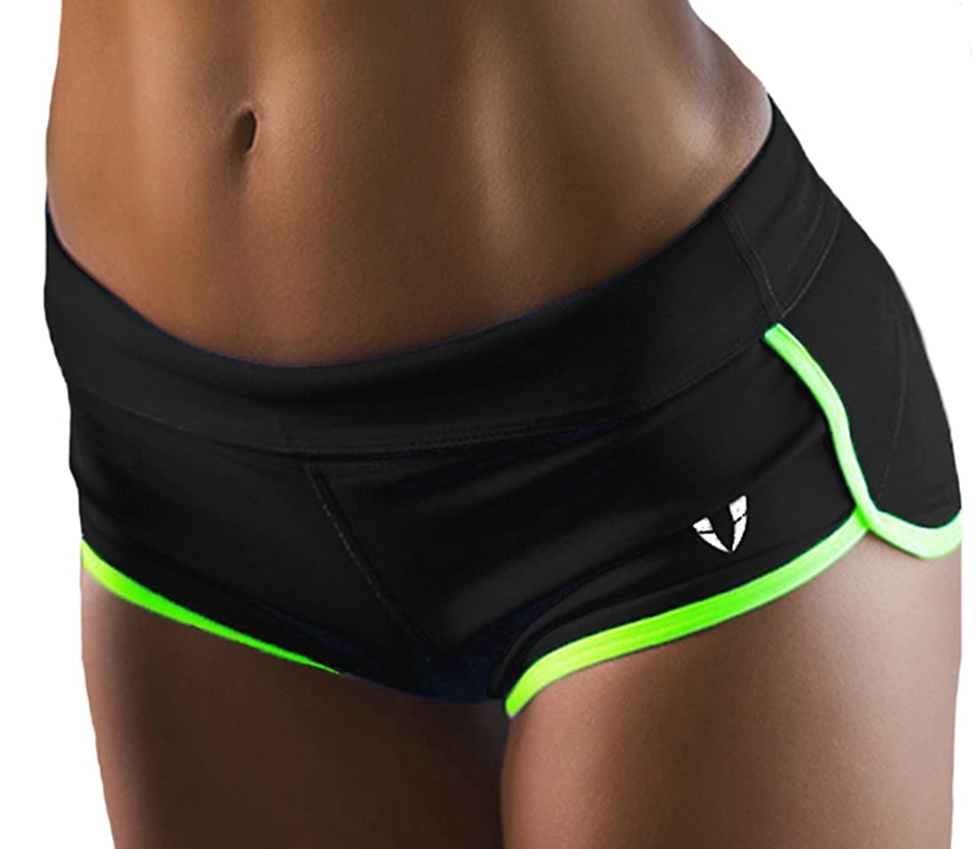 FIRM ABS Women's Perfomance Running Yoga Gym Workout Athletic Sport Shorts WS001