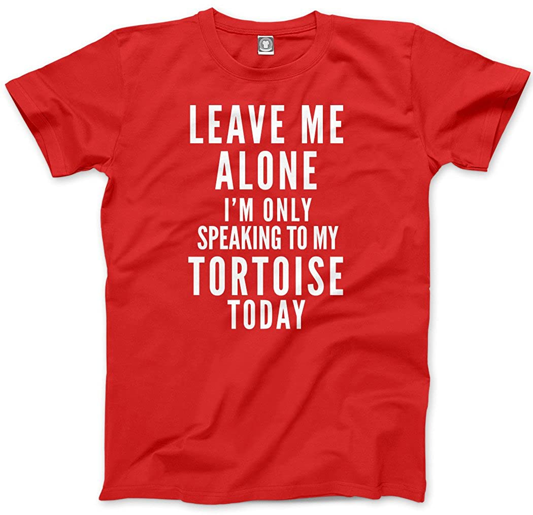 Leave Me Alone I/'m Only Talking To My Tortoise Pet Kids T-Shirt