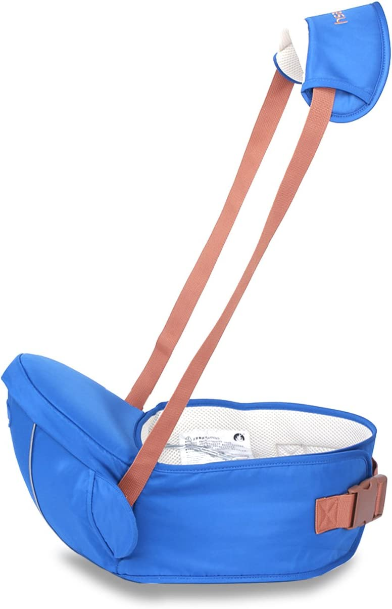 Tama/ño Gratuito Cintur/ón Frontal Seguro y C/ómodo SONARIN Portabeb/és Premium Hipseat Baby Carrier Azul Regalo Ideal 4 Posiciones de Carrying,100/% GARANTIA y ENTREGA GRATUITA