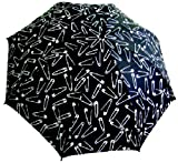 Punk Rock Retro SAFETY PINS Rain Umbrella