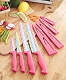 4-Pc. Colorful Pattern Cutlery Set (Zig Zag)
