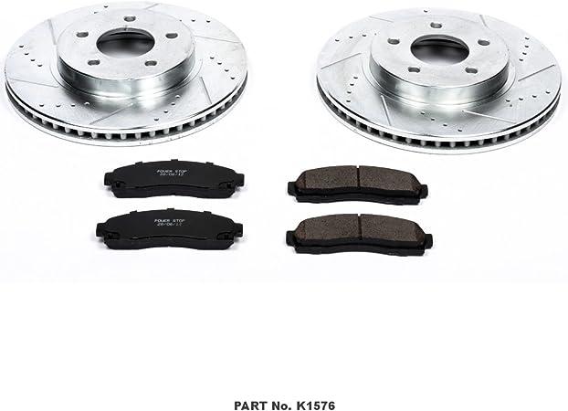 Power Stop Evolution Ceramic Disc Brake Pads for 2005-2006 Chevrolet Equinox zk