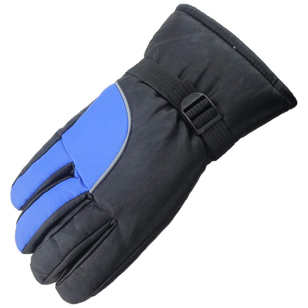 Y-WEIFENG Gants d'hiver, Gants de Ski de Neige Super Chauds - Parfaits pour la pêche sur Glace, Le Ski, Le traîneau, Le Snowboard - pour Homme ou Femme (Color : Black, Size : M) Le traîneau