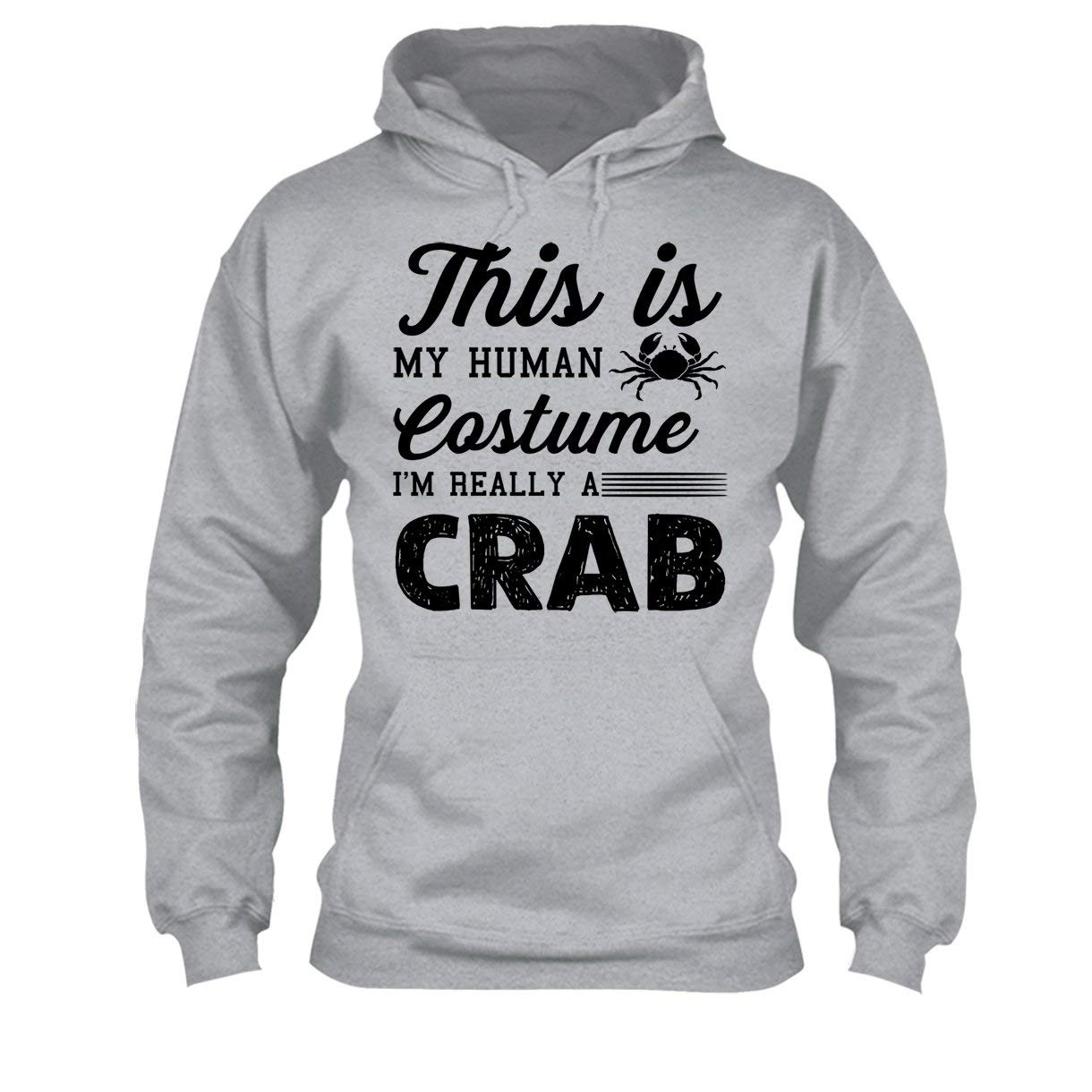 Hoodies Shirt Im Really A Crab Tee Shirt