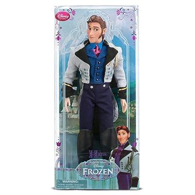 "Disney Frozen Exclusive 12"" Classic Doll Hans: Toys & Games"