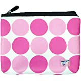 Neoprene Insulated Pouch and Ice Mat for Insulin, Medicine and Lipstick - TSA Compliant (Pink Dot)