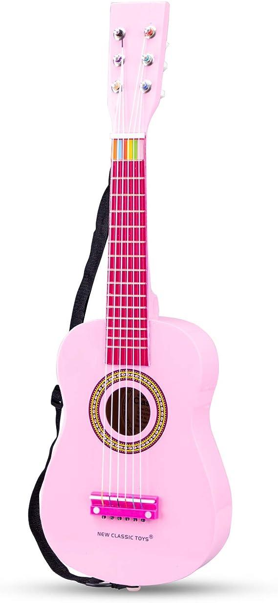 New Classic Toys Toys-10345 Guitarra para niños (Ref 0345), Color ...