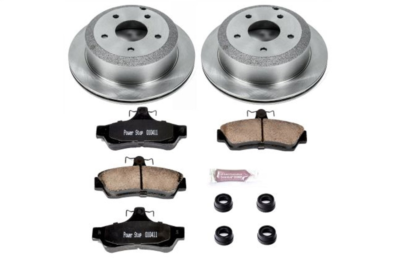 Autospecialty KOE1601 1-Click OE Replacement Brake Kit Power Stop