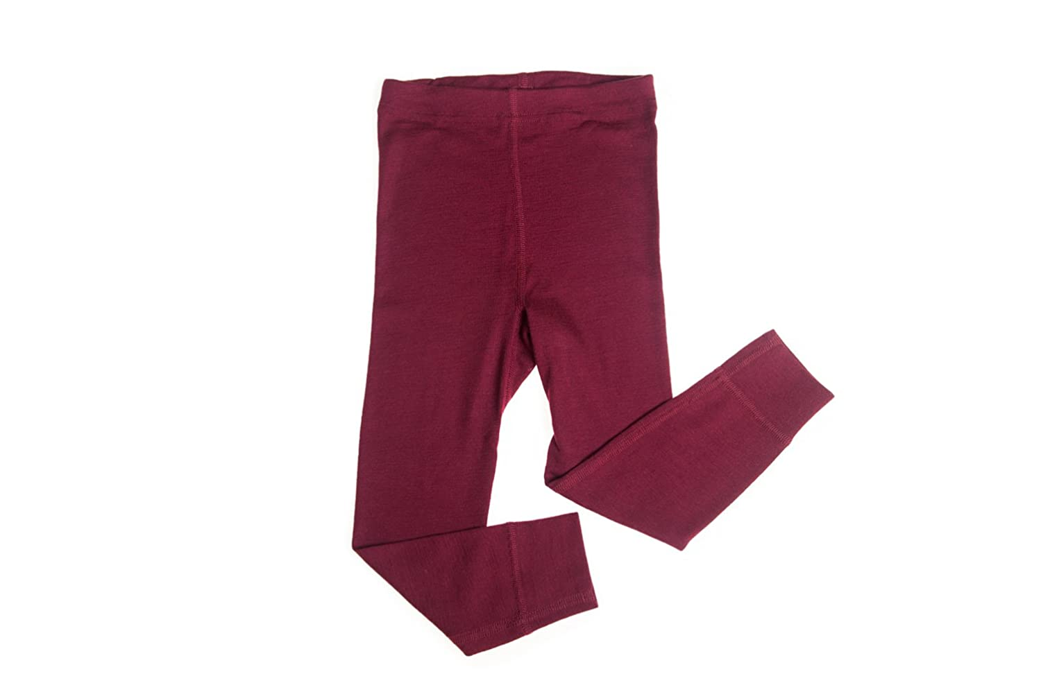 Hocosa of Switzerland Big Girls Organic Wool-Silk Long-Underwear Pants