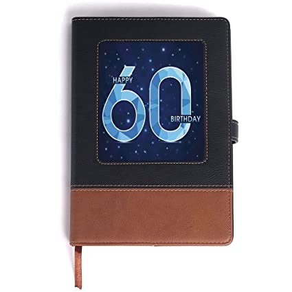 Amazon Note Book Lather 60th Birthday Decorations For Men