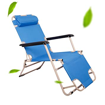 Livebest Outdoor Lounge Patio Folding Reclining Chair Portable Cot for Yard Beach Pool  sc 1 st  Amazon.com & Amazon.com : Livebest Outdoor Lounge Patio Folding Reclining Chair ... islam-shia.org
