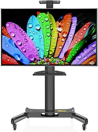 YUIOLIL Comercial 32-60 Pulgadas Pantallas Planas Carro de TV móvil Soporte de TV de Piso para el hogar: Amazon.es: Hogar