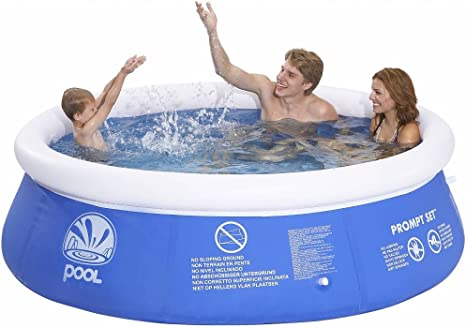 Jilong JL010201ND -P21 - Piscina Redonda Hinchable Marin, 240 X 63 ...