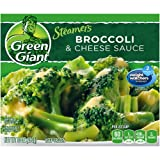GREEN GIANT FROZEN VEGETABLES STEAMERS BROCCOLI & CHEESE SAUCE 10 OZ PACK OF 4