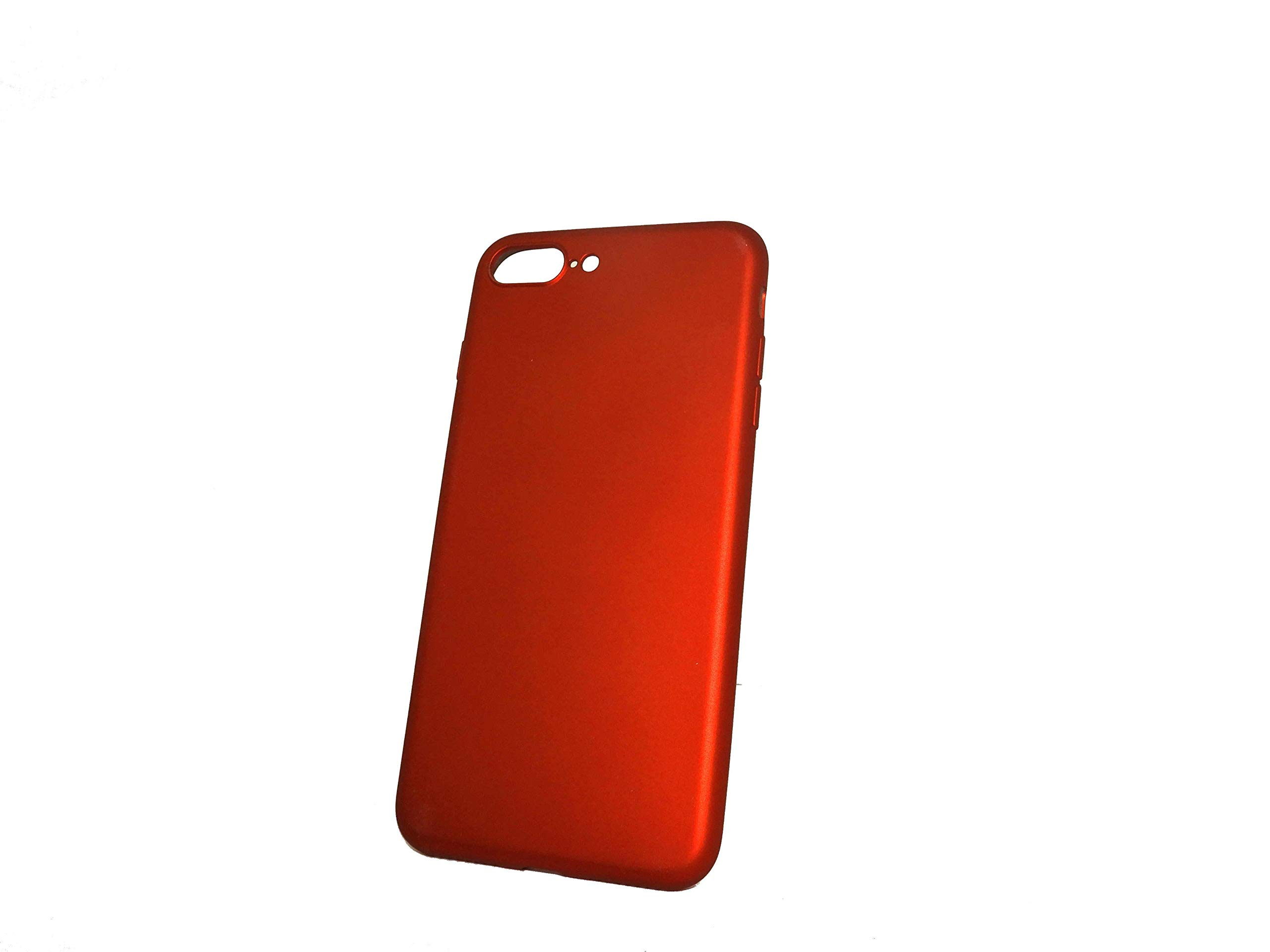 Slim iPhone 7 plus back cover case - Shiny Red