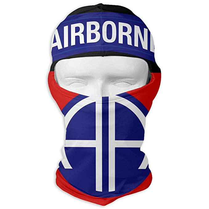 6545b8589 82nd Airborne Division Full Face Mask Hood