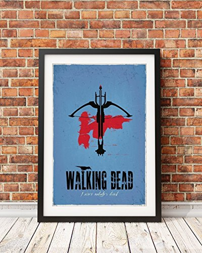 The Walking Dead Poster based on the Daryl Dixon Character