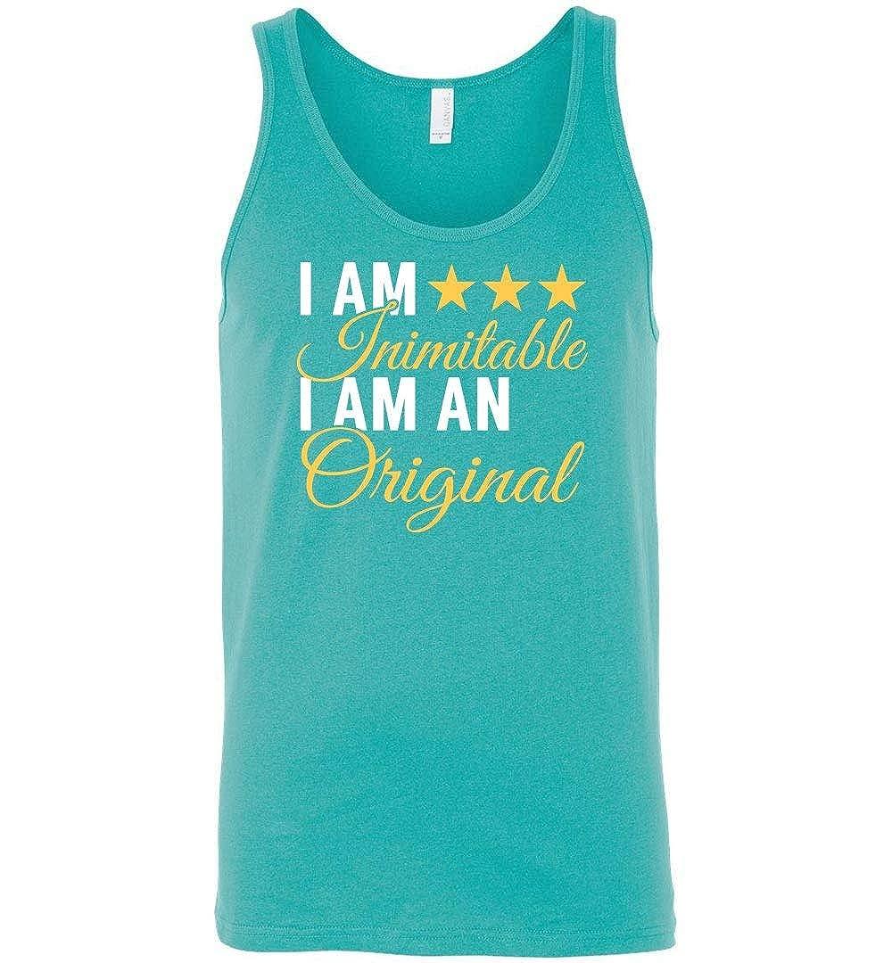 I Am Inimitable I Am an Original Hamilton Tank Top