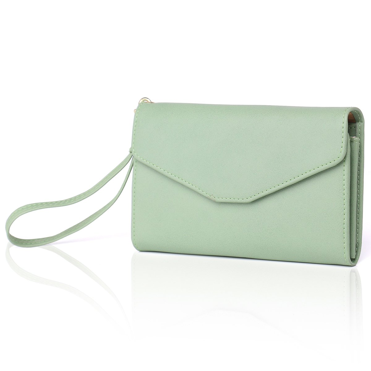 Zg Wristlets for Women, Cell Phone Clutch Wallet, Passport Wallet, All In One Purse Extra Capacity by Zg gift (Image #3)