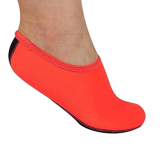 Fuxitoggo Calzado descalzo, calcetines suaves de Aqua ...