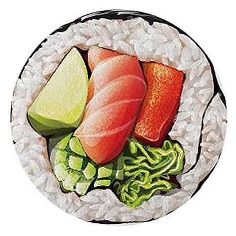 Sushi roll Ronda toalla de playa gasa Roundie Cali Sushi Roll círculo playa manta gigante de