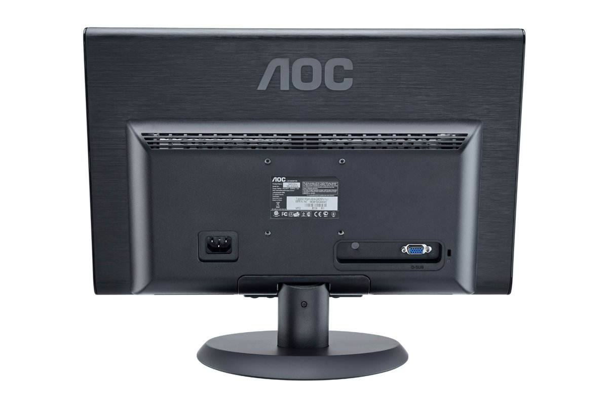 16inch AOC 1619SWA Widescreen 1366 x 768 Black 8ms TFT Monitor