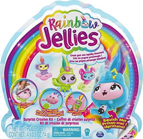 Rainbow Jellies Creation Kit met 25 verrassingen om je eigen Squishy karakters te maken voor kinderen vanaf 6 jaar
