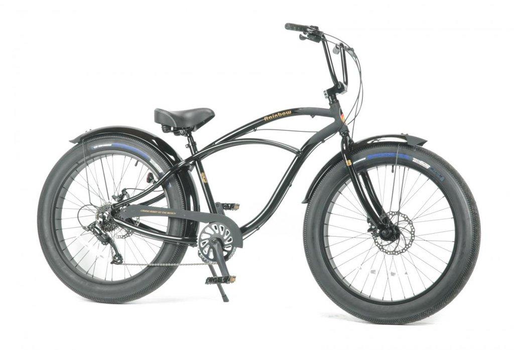 【 Rainbow Grease 3.5(8speed)@68040】 レインボー ビーチクルーザー グリース メンズ 自転車 サイクル B07C1PLRG7 ブラック ブラック