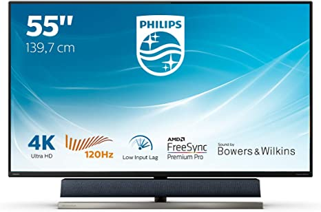 Monitor PHILIPS 558M1RY/00 - Pantalla para PC Gaming de 55