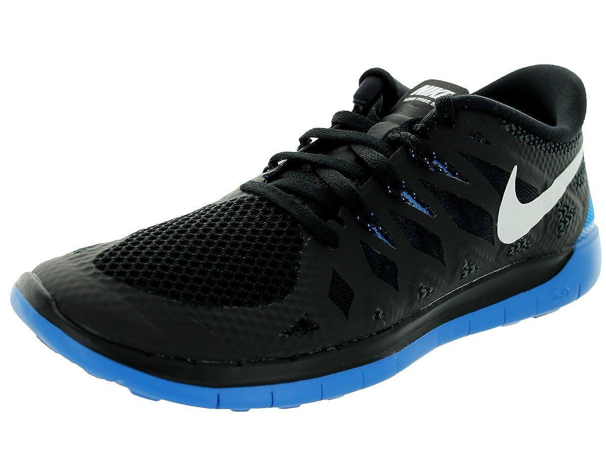 Nike Free 5.0 GS Youth Training Shoes BlackWhite