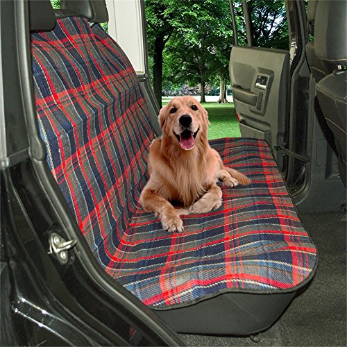 Seat Supports Interior Accessories Intelligent Green Vertical Stripes Pet Dog Car Seat Cover Pad Pet Rear Seat Cushion Mat Blanket Hammock Safe Dog Car Seat Back Protector