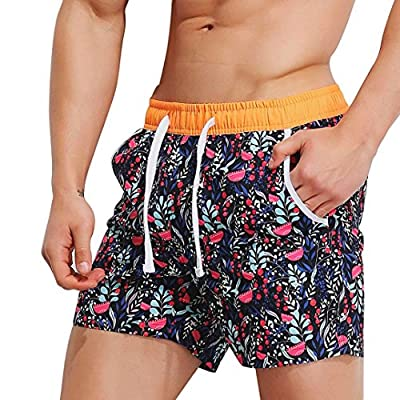 iZHH Mens Breathable Swim Trunks Pants Swimwear Shorts Slim Swimsuit Briefs