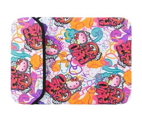 Hello Kitty 13 in Laptop Sleeve Graffiti