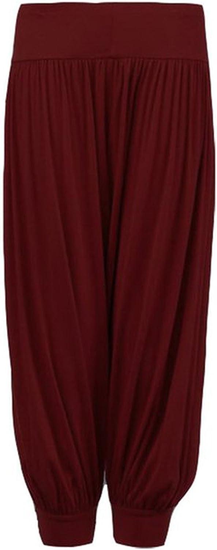 GirlsWalk Girls Plain Harem Trousers Pants