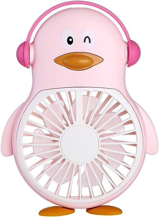 fghrgh Lámpara De Mesa, Luz Nocturna Auspicioso Ventilador De Pingüino Sambo Escritorio De Estudiante Pequeño Ventilador Lámpara De Atmósfera Multifunción A1413: Amazon.es: Hogar