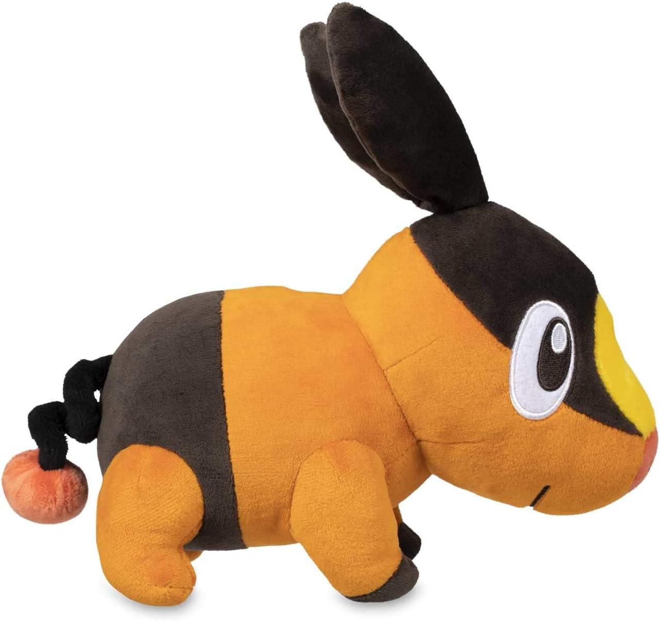 . Pokemon Center Pokabu Tepig Peluche Muñeco de Peluche Figura Llavero Colgante 5 in approx. 12.70 cm