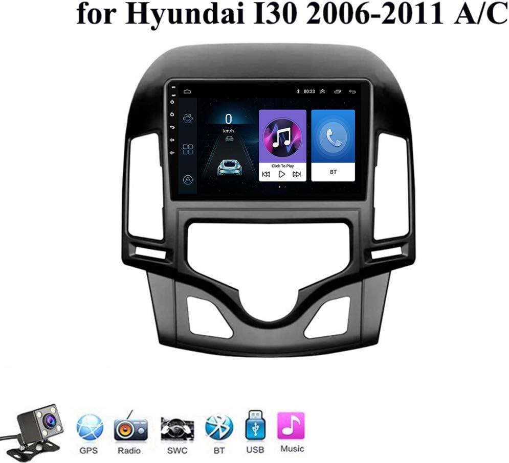 Gokiu Android 8.1 Auto Stereo Multimedia Player mit 9 Zoll Touchscreen f/ür Hyundai i30 2006-2011 mit GPS-Navigation Unterst/ützt Mirror-Link//Lenkradkontrolle