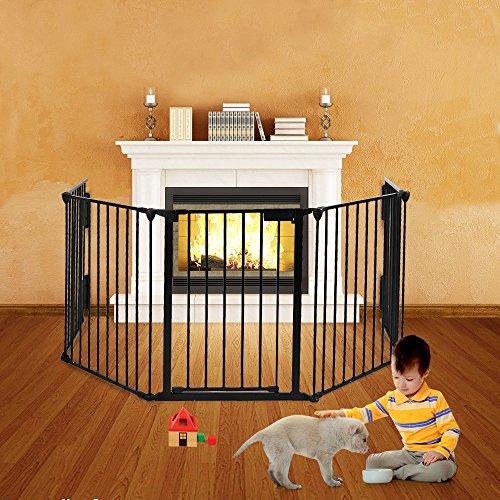 child safety gate wood - 8