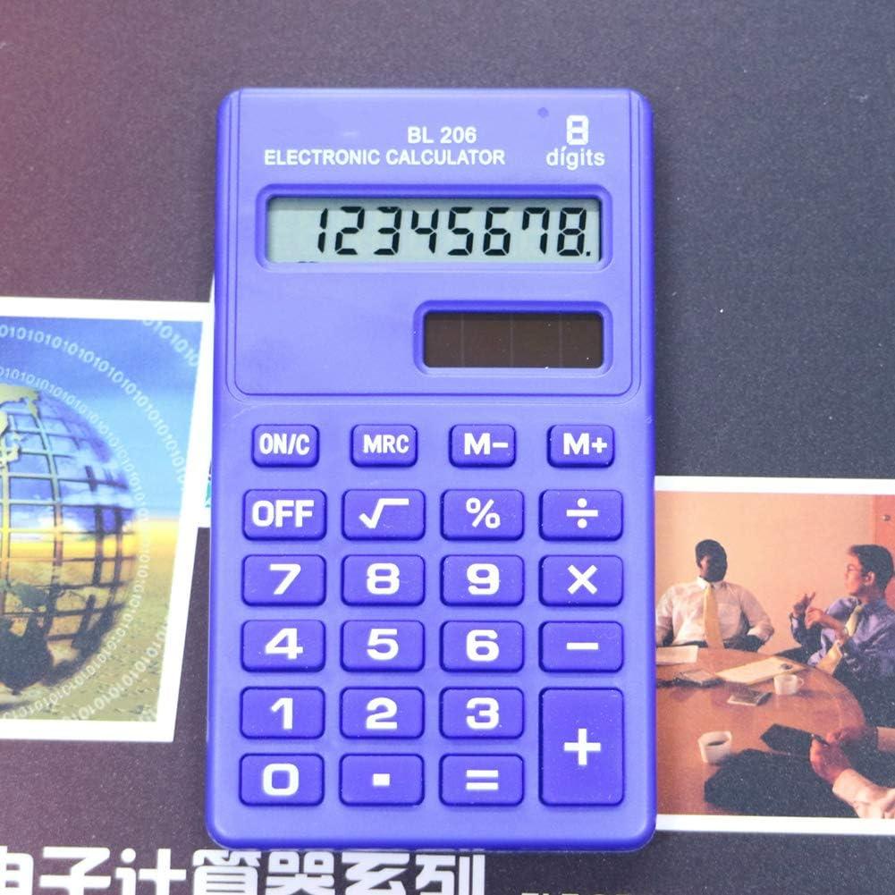8-stellig YSoutstripdu Elektronischer Taschenrechner Candy