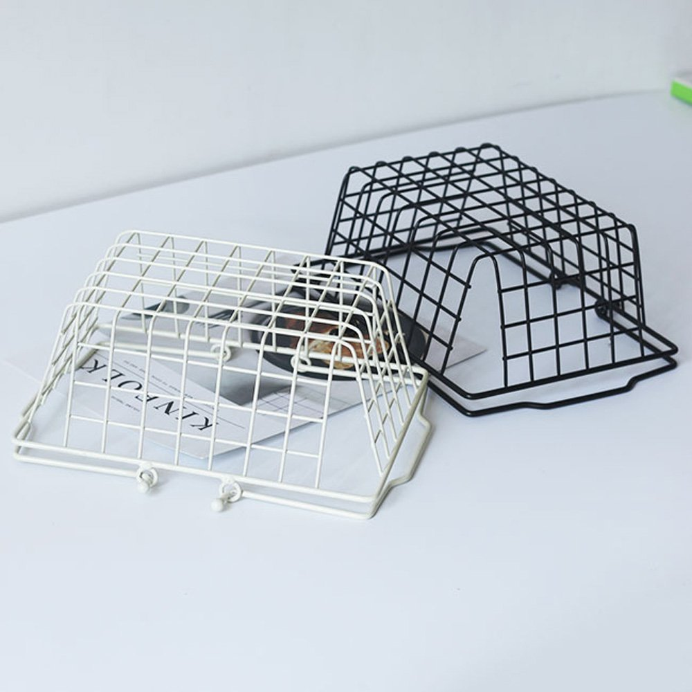 Baffect Metal Wire Baskets Table Bread Basket Shopping Basket Easter ...