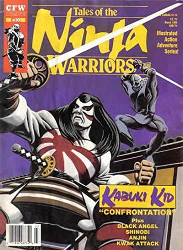 Tales of the Ninja Warriors #10 VG ; CFW comic ... - Amazon.com