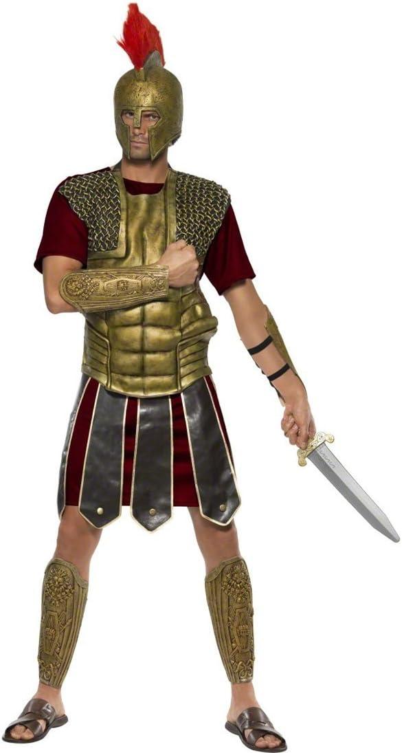 NET TOYS Traje de Gladiador Romano Disfraz Soldado Vestuario ...