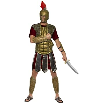 Traje de gladiador romano disfraz soldado vestuario luchador ...