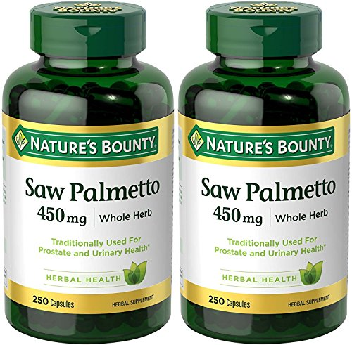 Natures Bounty Natural Palmetto Capsules