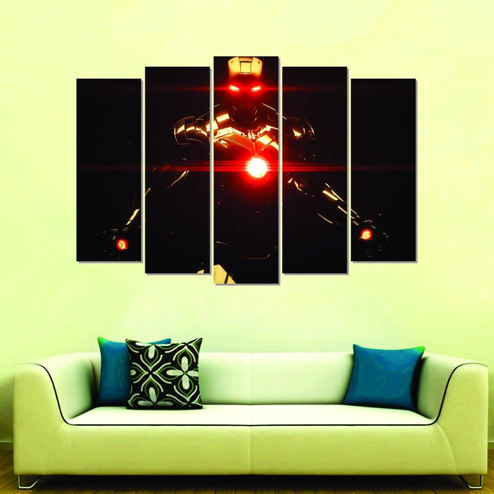 wall sticker iron man room decorations diy home decals vinyl 36 x 24