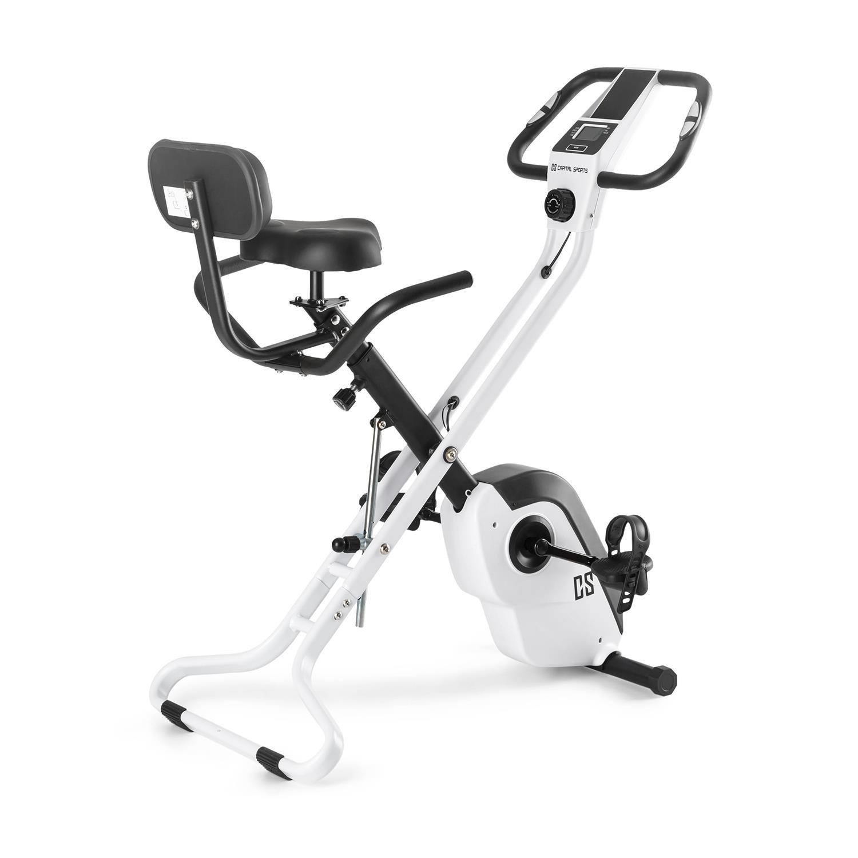 CAPITAL SPORTS Azura X bicicleta estática plegable kg de masa oscilante asas