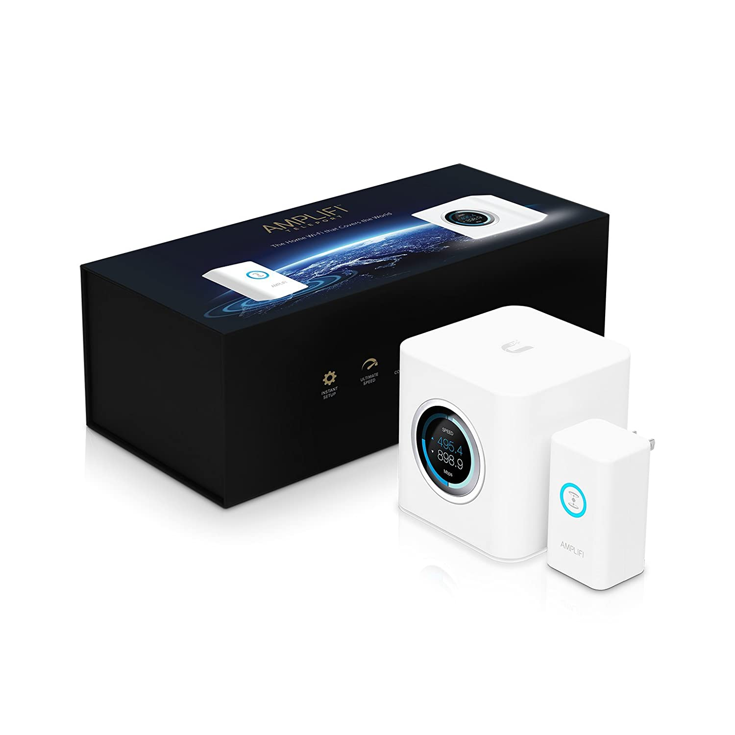 AmpliFi Teleport by Ubiquiti Labs, Plug-and-Play Hardware VPN, Secure and  Encrypted Internet Connection from Anywhere, Works with AmpliFi Mesh Router