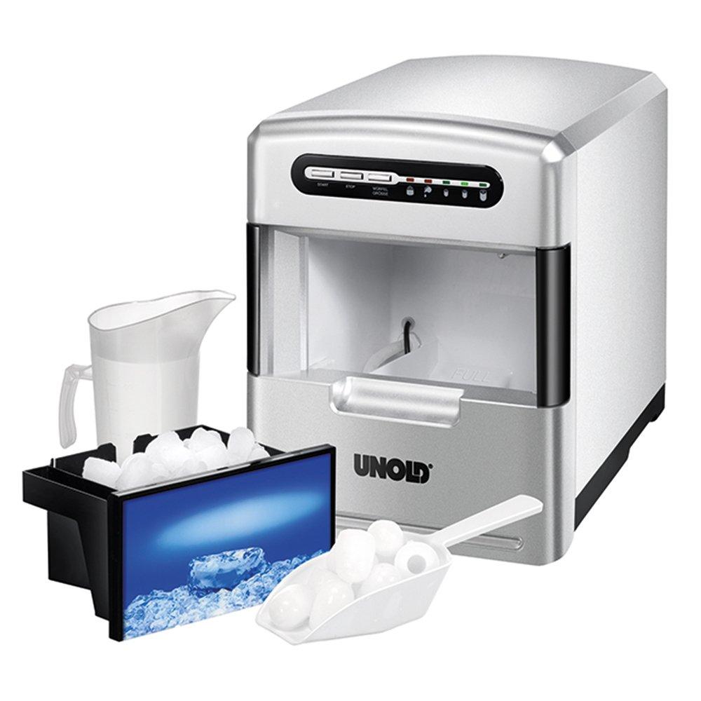 Amazon.de: Unold 48946 Eiswürfelbereiter / 140 Watt / 3 verschiedene ...