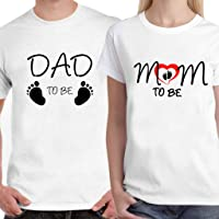 Powerpuff - Dad and Mom to be Unisex Couple T-Shirts Gift for Friends Couples Lovers